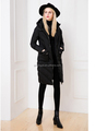 Snow suit coat long sleeve winter warm down jacket for women