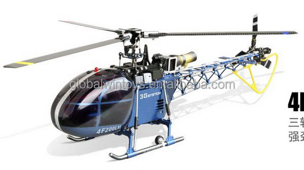 Super quality promotional large gas powered rc helicopter