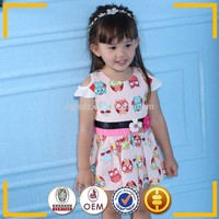 Animal catoons Girls dresses girls boutique clothing children girl dress