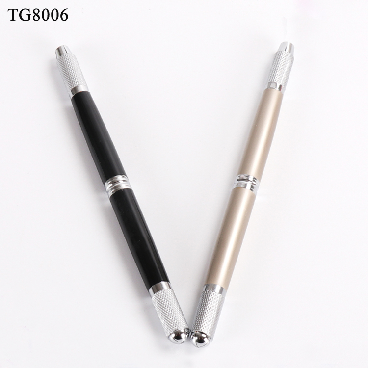 Microbalding Tattoo Pen Manufacturer Wholesale High Quality 3d Embroidery Eyebrow Manual Permanent Tattoo Pen