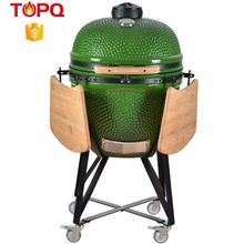 TOPQ 23inch Home Garden Cermic Charcoal Kamado Grill