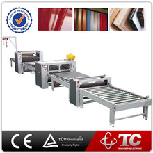 2015 the best selling China Supplier PVC MDF Profile Automatic PUR Hot Melt Laminating Machine