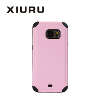 2016 Popular Antislip PC TPU Mobile Phone Caser Back Cover For Samsung S6 S7 XR-PC-64-1