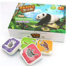 New AR Card Educational Toy For kids Zoo 3D Animal Cards cheap early educational toys for kids