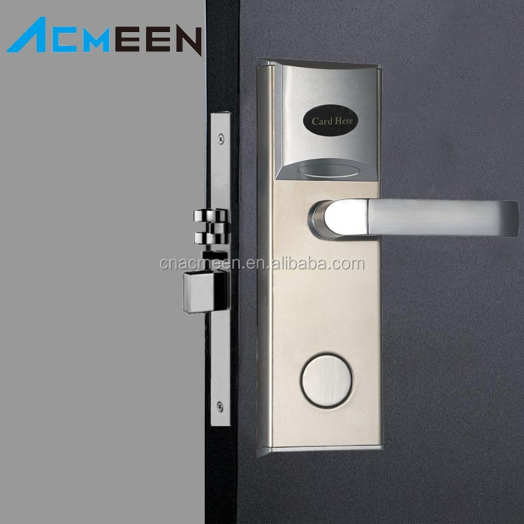 High security Hotel Door Lock Manufacturer Temic card Electronic Hotel Door Locks