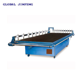 JFQG-2436  Large size Manual Glass sheet cutting table with competitive price