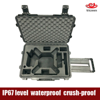 China oem supplier 2016 hot new products IP67 Tricases M2620 waterproof hard plastic carry dji phantom 3 case
