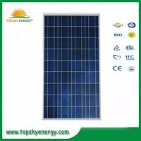 120w 17.5V 6.86A OEM/ODM poly grade A wholesale prices of solar panel made in China
