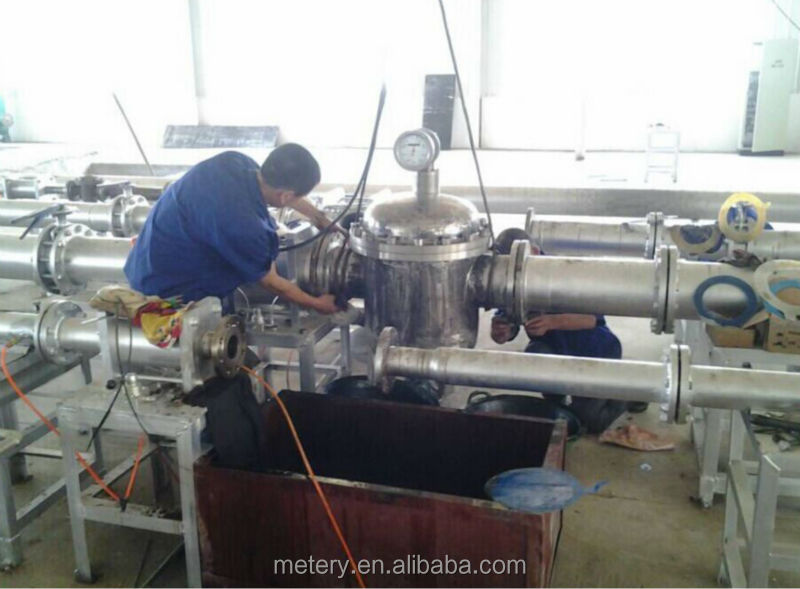 mechanical transformer oil flow meter with total flow rate display Metery Tech.China