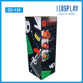 Creative products custom portable football wall hanging displays rack for soccer