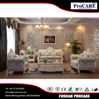 Promotion chiniot wooden furniture pakistan for safa set