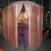 High Quality 2015 New Hanging Home Decor Metal Coil Drapery Curtain