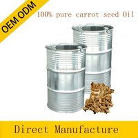 100% pure and natural carrot seed essential oil in bulk private label offered 180KG