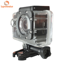 Economy HD 720p Action Camera 2 Inch Screen Sports Camera 30 Meters Waterproof