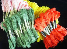 High quality Embroidery Floss 1Bag=24PCS Only Ship to Shanghai