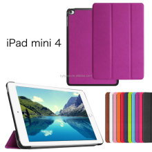 for ipad mini4 case, luxury cheap stand folio cover flip case for ipad mini4 magnetic case