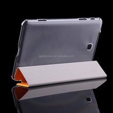 Trifolding leather cover for samsung galaxy tab pro 8.4 T320 with TPU inside