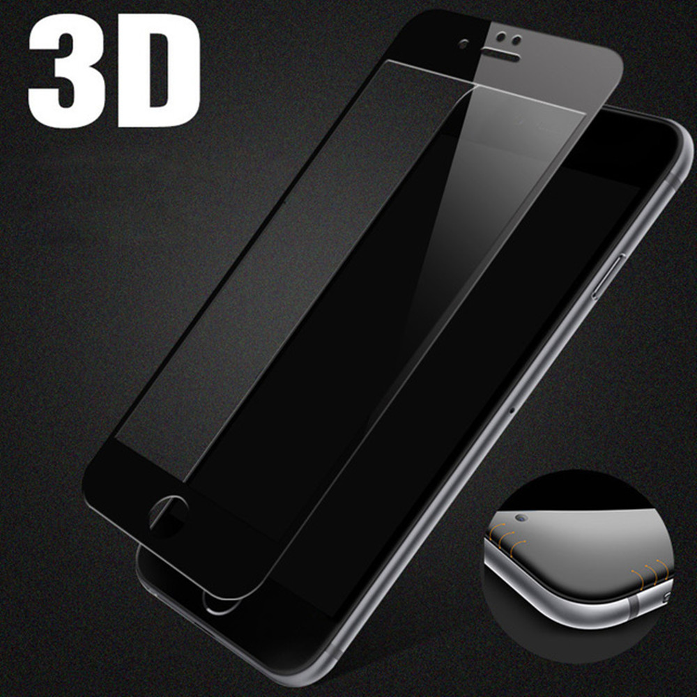 For Iphone 7 7+ 3D Curved Asahi Custom made tempered glass screen protector