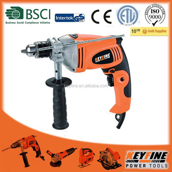 KEYFINE 13mm 16mm Semi professional impact drill with double color side handle
