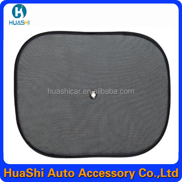 foldable mesh car sunshades for side window spring sunshade