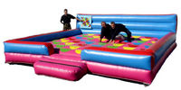 funny outdoor inflatable twister, inflatable twister game for kids or adults