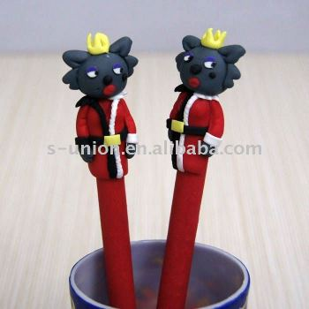 Newest vivid handmade animal cartoon ballpen