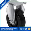 new design Guangzhou Wearable Long Working Life small pu caster wheel for trolley