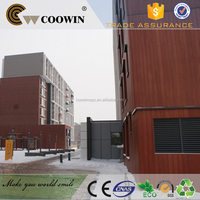 wood plastic pvc composite exterior wall cladding