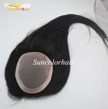 Best selling mono base female hair replacement women topper wig indian remy human hair toupee / wig