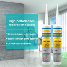 OEM wholesale excellent weatherproof property anti-mildew silicone sealant