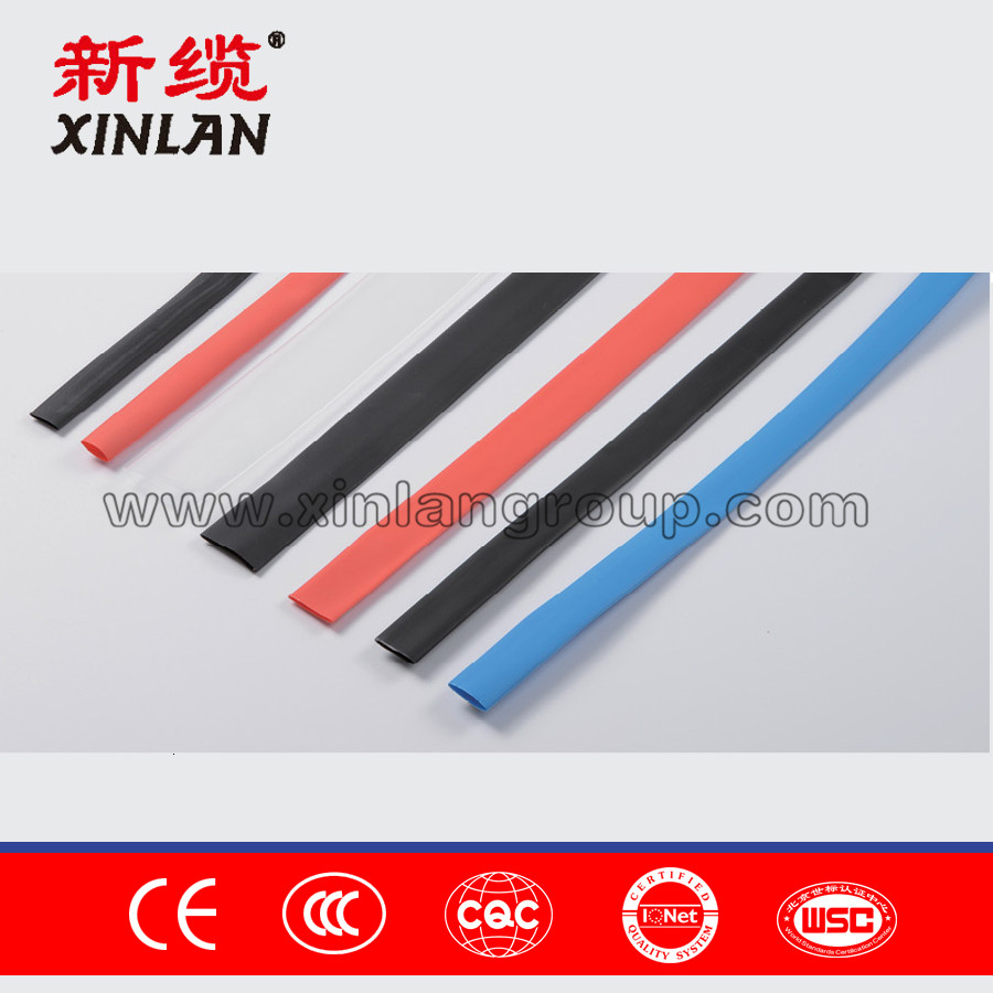 Low Price silicone rubber heat shrink tubing manufactured in China