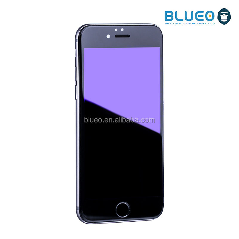 Anti Blue Ray Real Tempered Glass Film For Apple Mobile Phone
