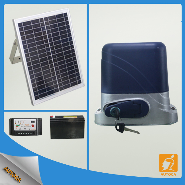 DC 24V Automatic solar powered sliding gate openers