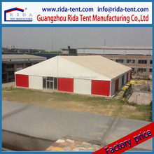 New Waterproof Temporary Warehouse Tent for sale, Solid Wall Large Storage Tent, permanent tent for sale