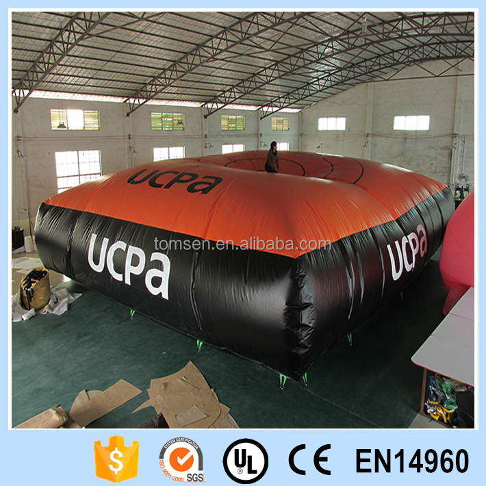 Inflatable bed giant safe bed big sport game playground