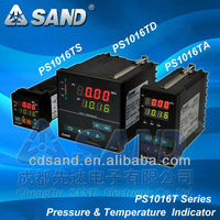 pressure and temperature indicator for plastic extrusion line
