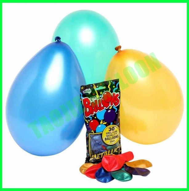 10 inches Pearl color latex free balloons