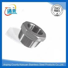 made in china casting stainless steel bsp npt thread bushing reducer