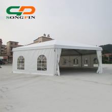 aluminum frame polygon event tent for sale with glass door
