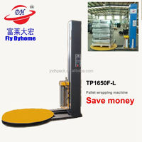 Pallet wrapping machine for plastic container ,Solar panels Battery Pallet wrap dispenser