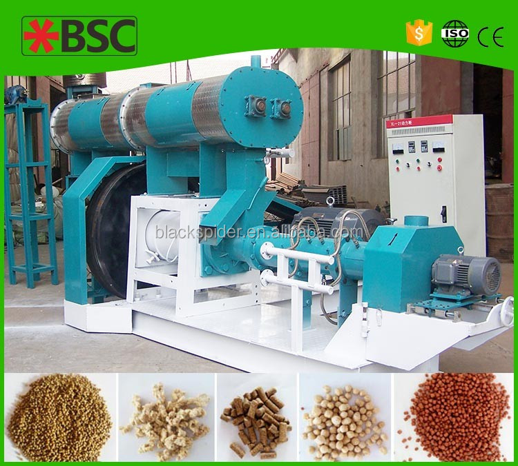 Animal floating fish feed extruder machine in nigeria