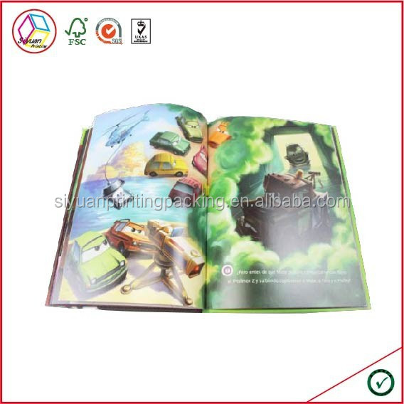 High Quality Cartoon Children English Story Books
