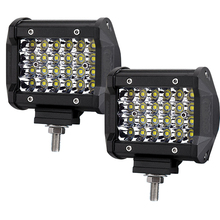 NEW LG-P4424 4 rows 24pcs LED Spot 4inch 72W LED Light Bar For Off Road Jeep Wrangler Auto Car Accessories