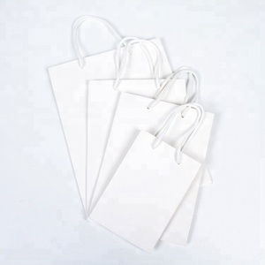 High Quality Secret Compartment Gift Paper Bag With Ribbon Hand