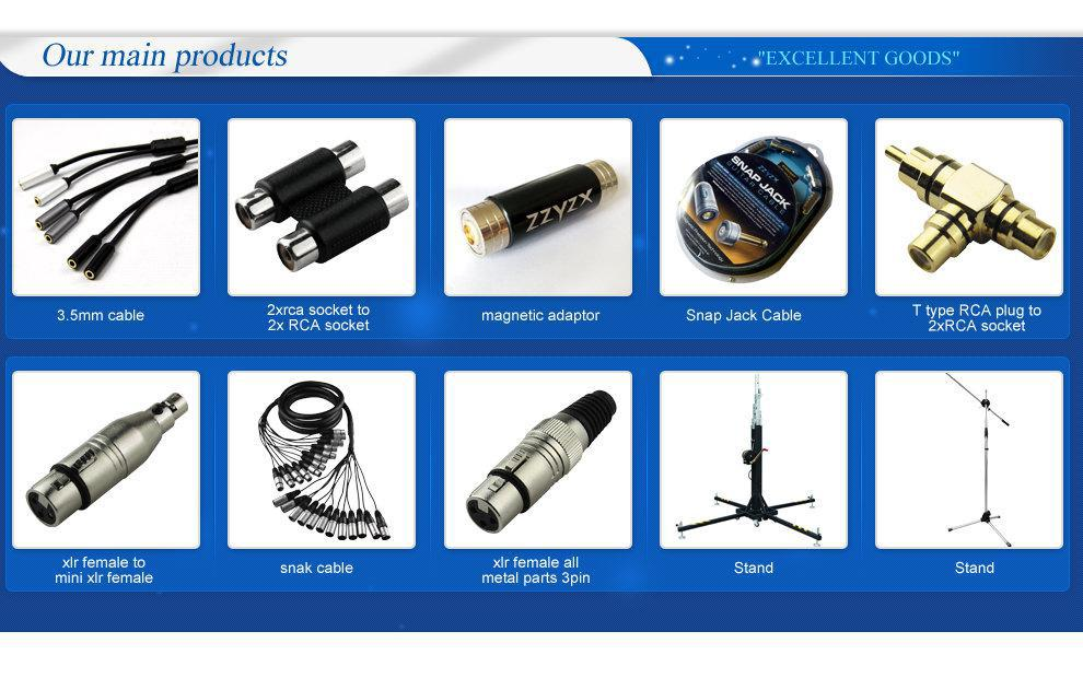 Factory Price low noise microphone cable and cable for microphones for sale