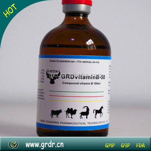 Nutritional Medicine Vitamin B Complex Injection For Poultry And Livestock