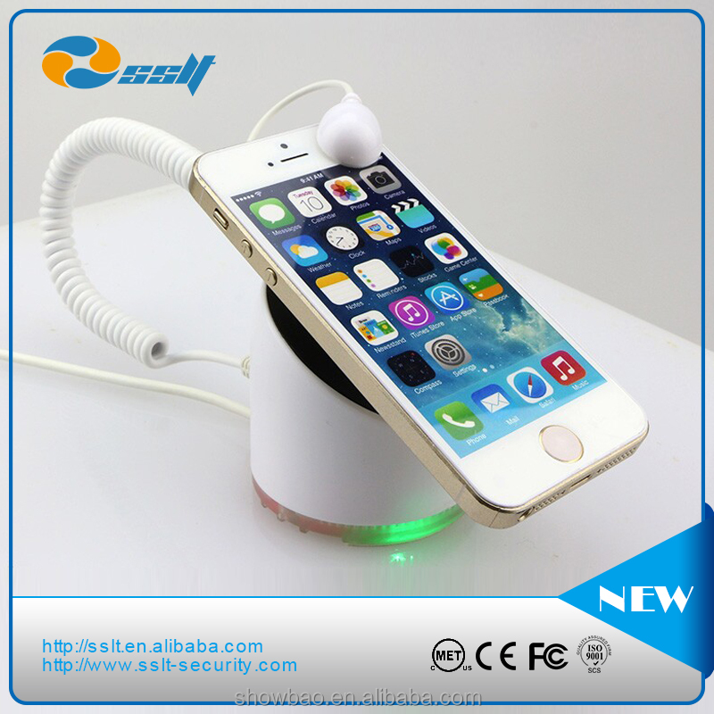 ABS LED light Mobile Phone Holder with alarm and charging function