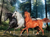 Hot Promotional Gifts Horse Design 3D Lenticular Picture