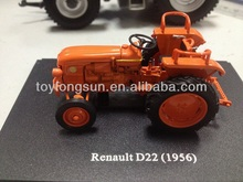 1/43 scale diecast toys alloy tractor