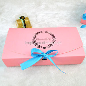 custom folding luxury gift box for cookies box packaging design